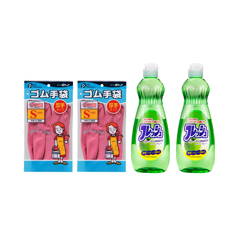 Combo Chai Nước Rửa Bát Chén Hương Táo 600ml Rocket + Găng Tay Đa Năng Pocket (Size S)- Nội Địa Nhật Bản - 7391479 , 3949139424523 , 62_11226704 , 340000 , Combo-Chai-Nuoc-Rua-Bat-Chen-Huong-Tao-600ml-Rocket-Gang-Tay-Da-Nang-Pocket-Size-S-Noi-Dia-Nhat-Ban-62_11226704 , tiki.vn , Combo Chai Nước Rửa Bát Chén Hương Táo 600ml Rocket + Găng Tay Đa Năng Pocket