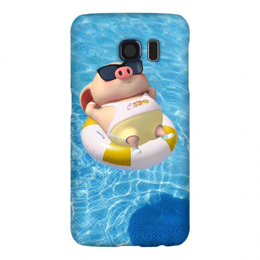 Ốp Lưng Cho Điện Thoại Samsung Galaxy S6 - Mẫu heocon 87