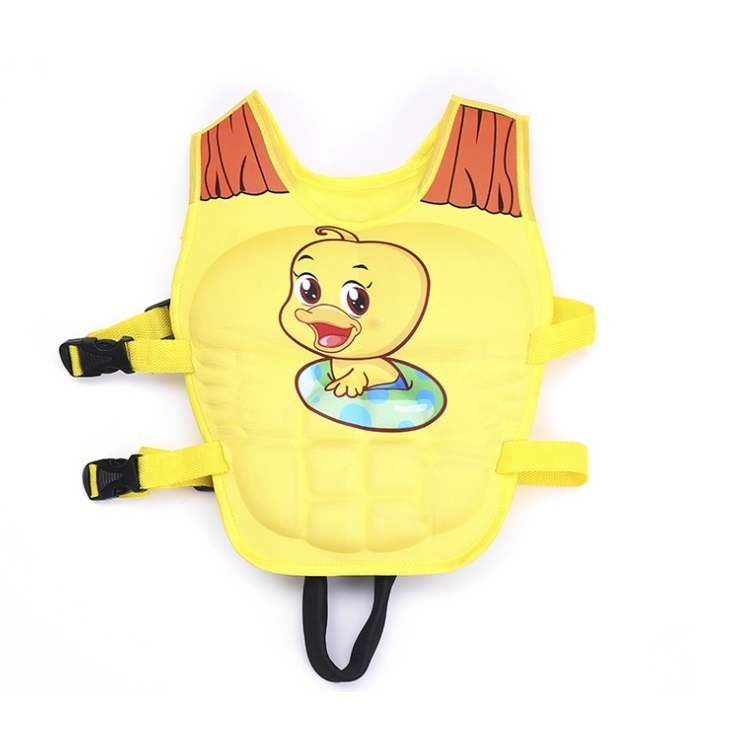 Phao bơi trẻ em, áo phao bơi DUCK (Bé từ 2 - 6 tuổi) - Size M