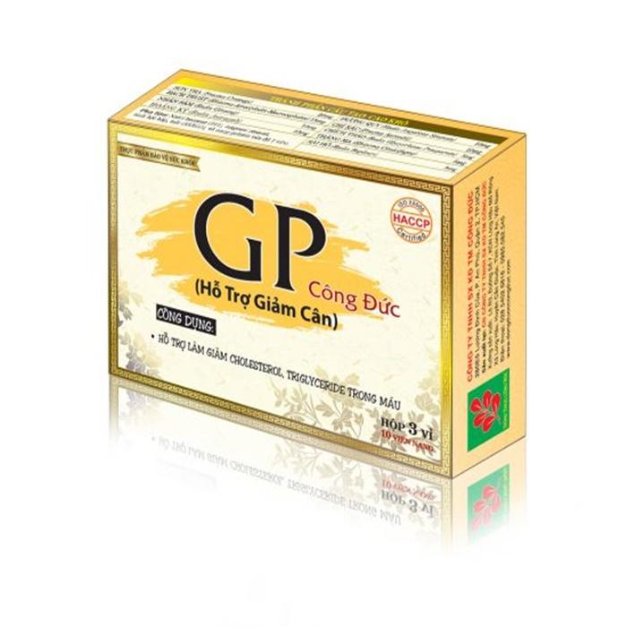 Thực phẩm bảo vệ sức khỏe, hỗ trợ giảm cân GP Công Đức (30 viên) - 778792 , 5651273262531 , 62_11423697 , 108000 , Thuc-pham-bao-ve-suc-khoe-ho-tro-giam-can-GP-Cong-Duc-30-vien-62_11423697 , tiki.vn , Thực phẩm bảo vệ sức khỏe, hỗ trợ giảm cân GP Công Đức (30 viên)