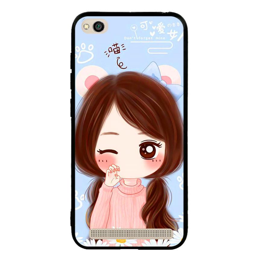 Ốp lưng viền TPU cao cấp cho điện thoại Xiaomi Redmi 5A -Baby Girl