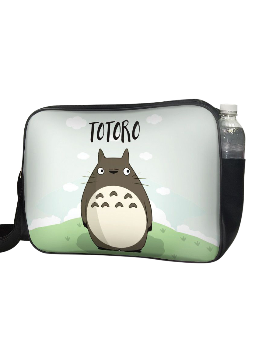 Túi Đeo Chéo Hộp Unisex In Hình Totoro - TCMA