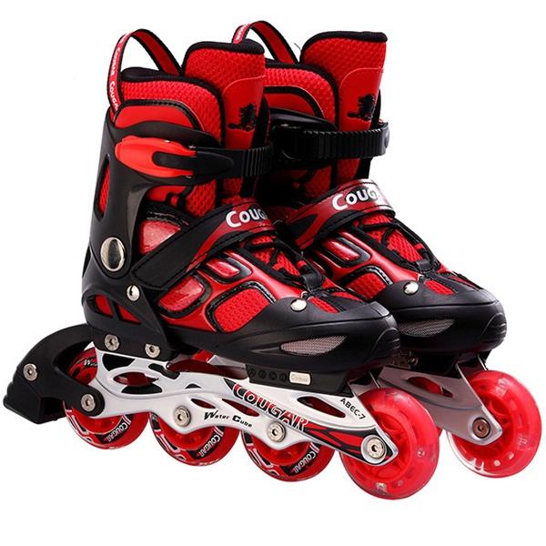 Giầy trượt patin Cougar 1 bánh phát sáng 835LSG màu đỏ đen size L - 814326 , 7861569431970 , 62_15049672 , 845000 , Giay-truot-patin-Cougar-1-banh-phat-sang-835LSG-mau-do-den-size-L-62_15049672 , tiki.vn , Giầy trượt patin Cougar 1 bánh phát sáng 835LSG màu đỏ đen size L