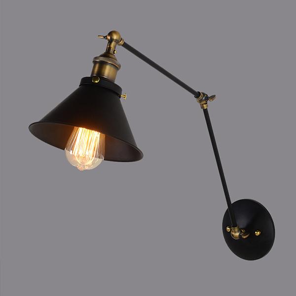 Đèn gắn tường - đèn tường 2 khớp đui đồng cao cấp phong cách cổ điển Yasuo