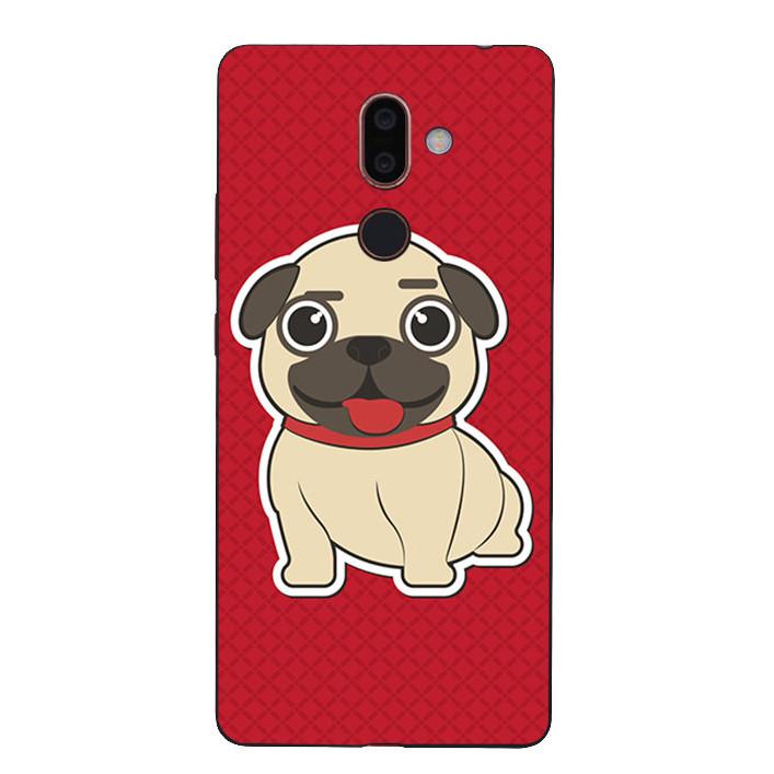 Ốp Lưng Dẻo Cho Điện Thoại Nokia 7 Plus - Cute Dog 01