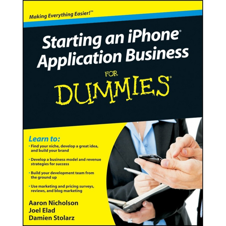 Starting an iPhone Application Business for Dummies - 1239301 , 6738357643086 , 62_5277899 , 552000 , Starting-an-iPhone-Application-Business-for-Dummies-62_5277899 , tiki.vn , Starting an iPhone Application Business for Dummies