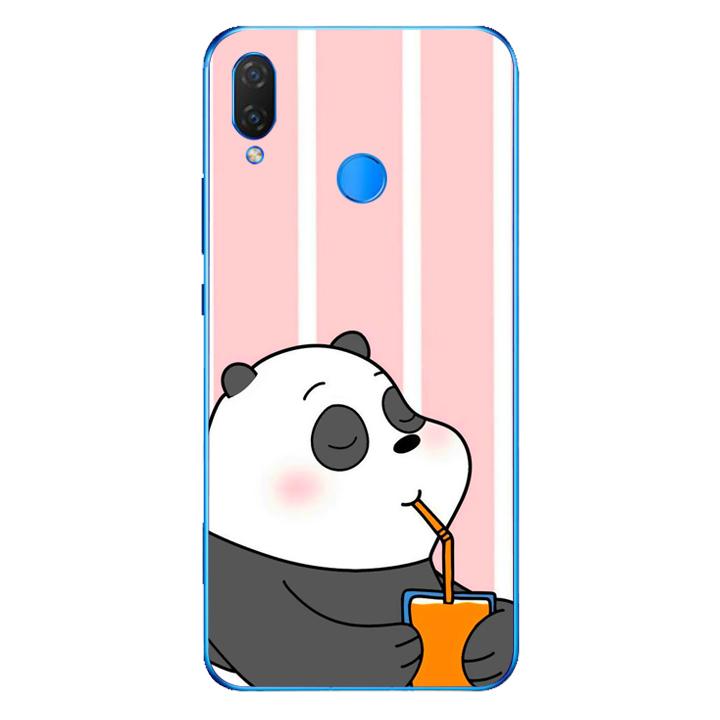 Ốp lưng dẻo Nettacase cho điện thoại Huawei Y9 2019_0399 PANDA06 - Hàng Chính Hãng