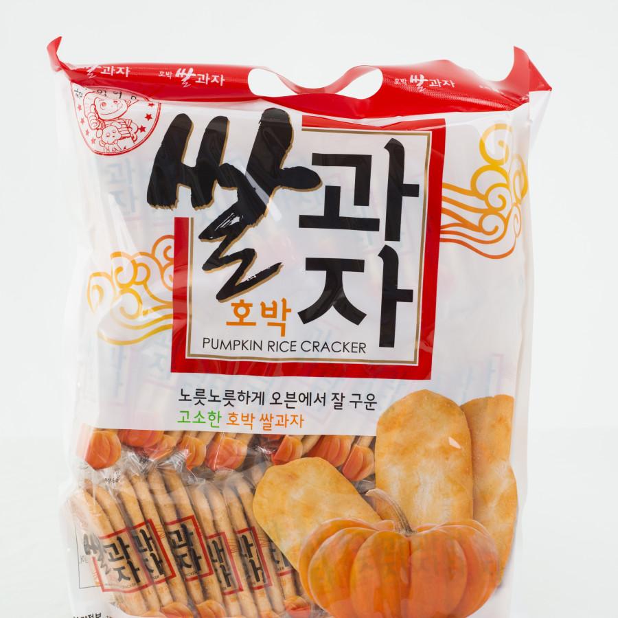 Combo bánh gạo bí ngô Hàn quốc 230,4g - 1900185 , 2725821888320 , 62_14565125 , 195000 , Combo-banh-gao-bi-ngo-Han-quoc-2304g-62_14565125 , tiki.vn , Combo bánh gạo bí ngô Hàn quốc 230,4g