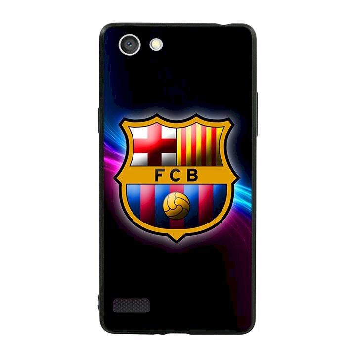 Ốp lưng viền TPU cho dành cho Oppo Neo 7 - Clb Barcelona