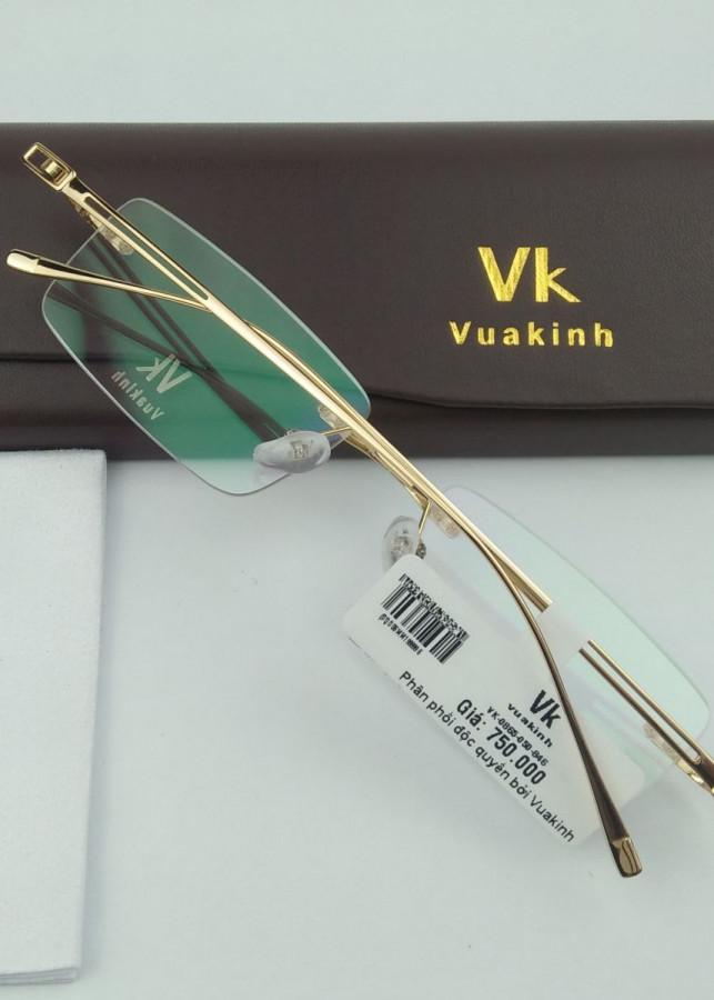 Gọng kính cận titan không viền càng đôi VK-40 - 812056 , 8786973541307 , 62_14720467 , 950000 , Gong-kinh-can-titan-khong-vien-cang-doi-VK-40-62_14720467 , tiki.vn , Gọng kính cận titan không viền càng đôi VK-40