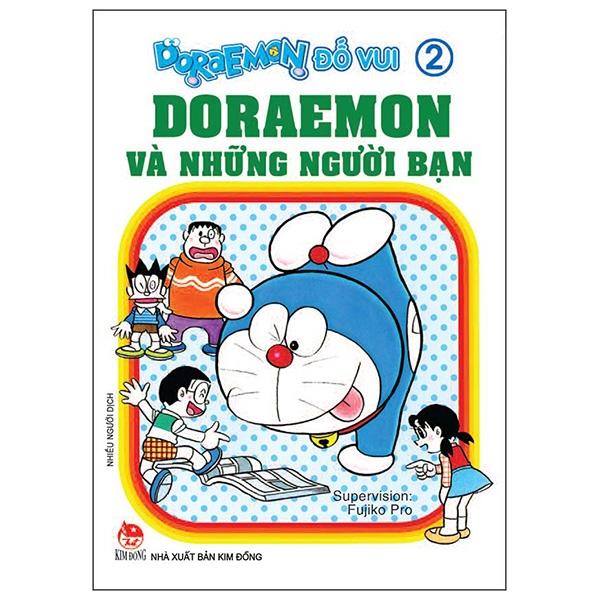 Doraemon Đố Vui Tập 2: Doraemon Và Những Người Bạn (Tái Bản 2019)