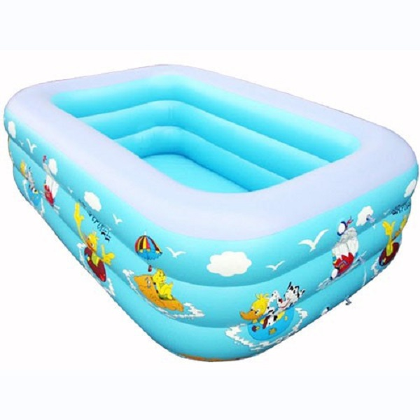 Bể phao bơi cho bé (160x120cm)