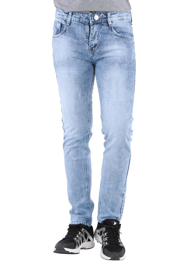 Quần Jeans Nam Dài M01 - Xanh Vi Sinh