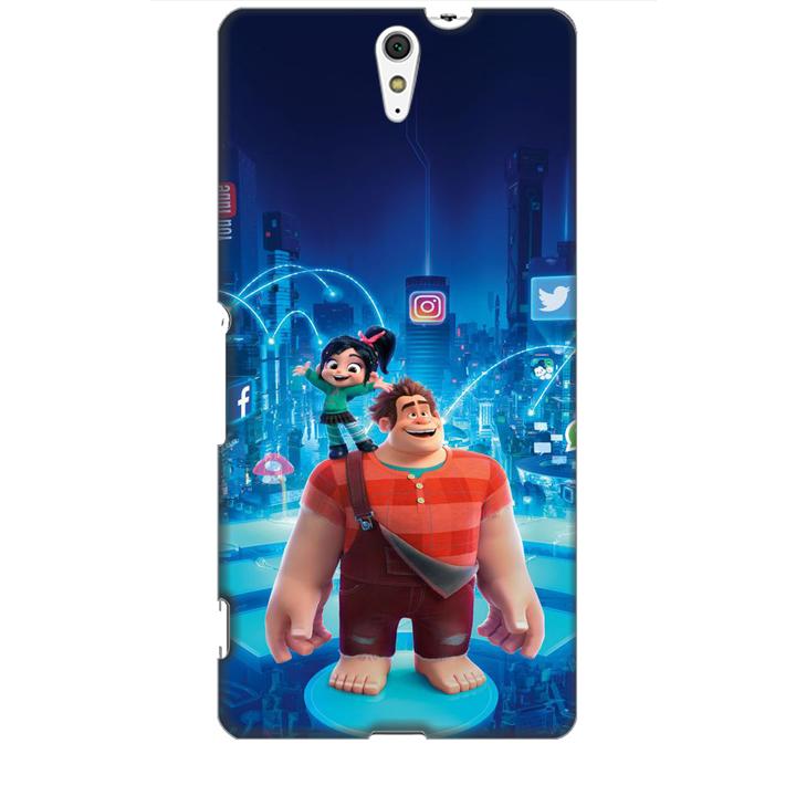 Ốp lưng dành cho điện thoại SONY C5 hình Big Hero Mẫu 01