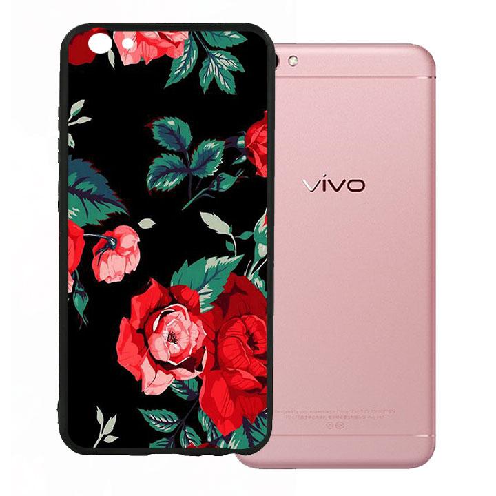 Ốp lưng viền TPU cho Vivo V5 - Rose 01 - 1073002 , 8203994826935 , 62_15002907 , 200000 , Op-lung-vien-TPU-cho-Vivo-V5-Rose-01-62_15002907 , tiki.vn , Ốp lưng viền TPU cho Vivo V5 - Rose 01
