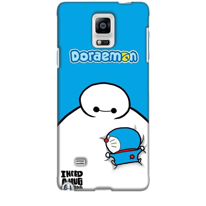 Ốp lưng dành cho điện thoại  SAMSUNG GALAXY NOTE 4 Big Hero Doraemon