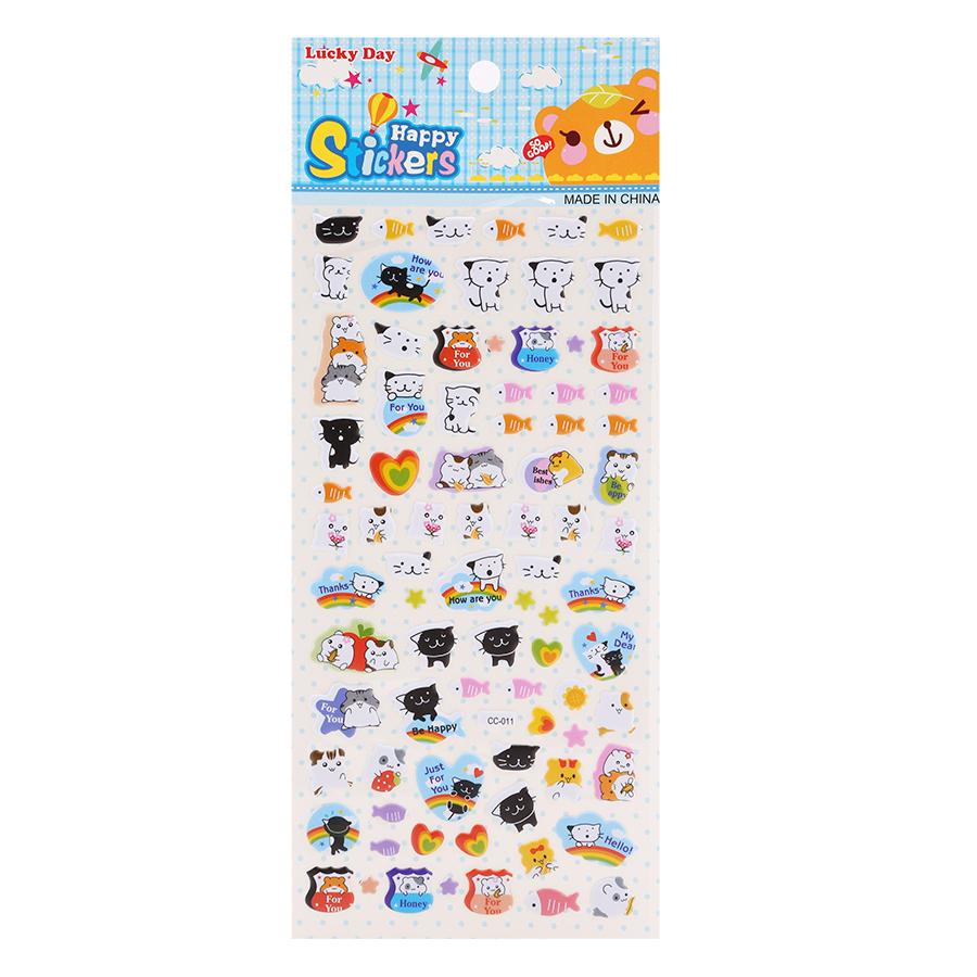 Sticker Dán Nổi Cho Bé - CC011