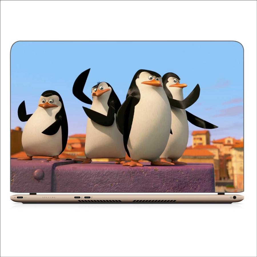 Miếng Dán Skin In Decal Dành Cho Laptop - Chim cánh cụt 3 - Mã: 071118