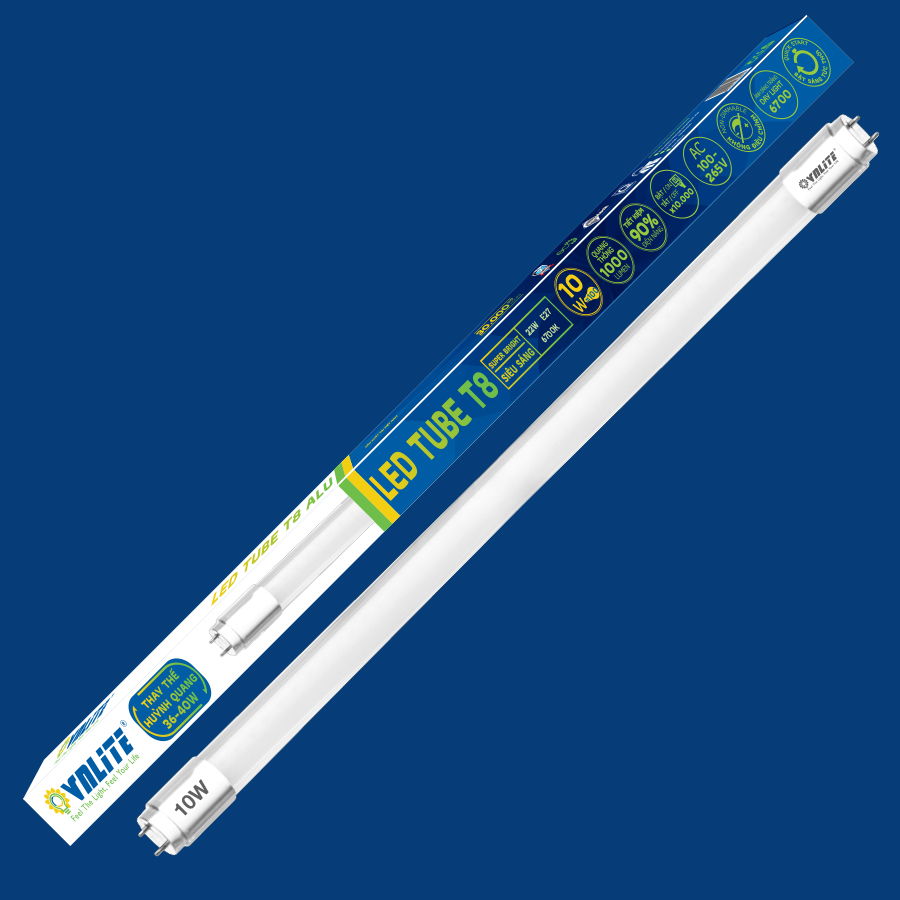 Bóng Đèn LED Tuýp Thủy Tinh 0,6m T8 10W - Trắng - 4603810 , 8166156797415 , 62_10695109 , 65000 , Bong-Den-LED-Tuyp-Thuy-Tinh-06m-T8-10W-Trang-62_10695109 , tiki.vn , Bóng Đèn LED Tuýp Thủy Tinh 0,6m T8 10W - Trắng