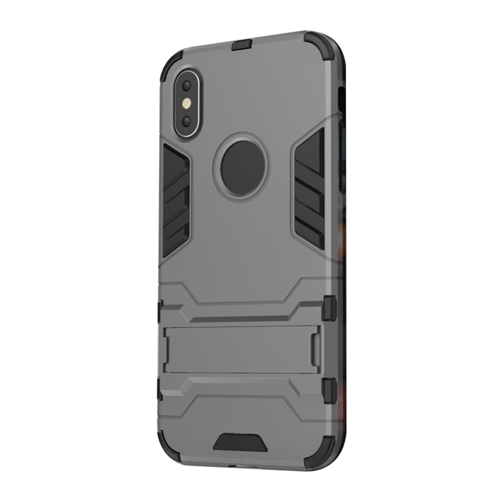 Case for iPhone X with Stand Back Cover Solid Colored Hard PC - 16628312 , 7762107780287 , 62_27192201 , 144000 , Case-for-iPhone-X-with-Stand-Back-Cover-Solid-Colored-Hard-PC-62_27192201 , tiki.vn , Case for iPhone X with Stand Back Cover Solid Colored Hard PC