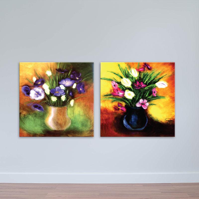 Bộ 2 tranh lọ hoa tranh tĩnh vật phong cách sơn dầu – W1631 - 7166522 , 7929076183680 , 62_10678963 , 950000 , Bo-2-tranh-lo-hoa-tranh-tinh-vat-phong-cach-son-dau-W1631-62_10678963 , tiki.vn , Bộ 2 tranh lọ hoa tranh tĩnh vật phong cách sơn dầu – W1631