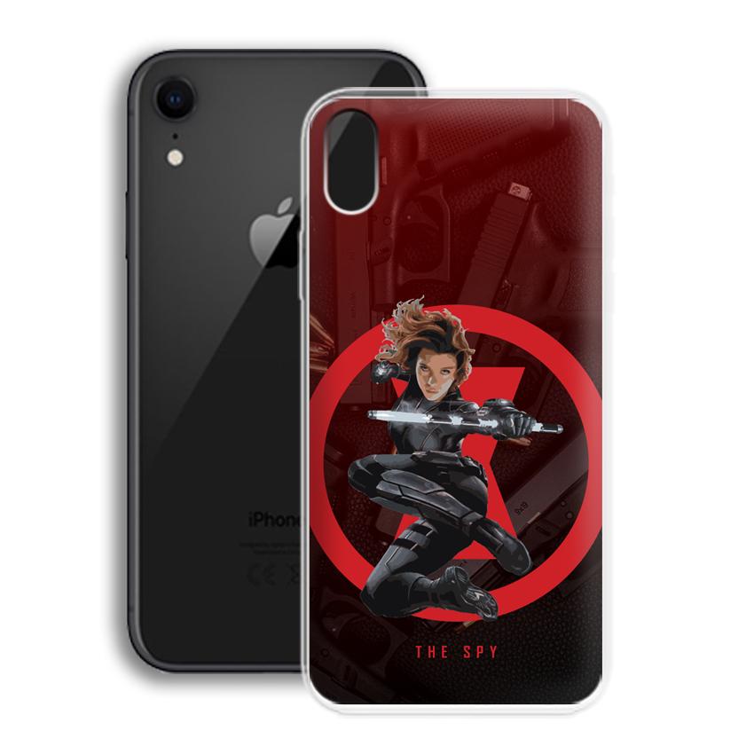 Ốp lưng cho điện thoại Apple Iphone XR - 01016 0538 SPY01 - Silicone dẻo - Hàng Chính Hãng