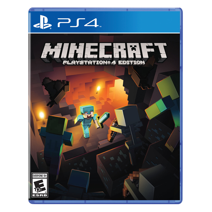 Đĩa Game PlayStation PS4 Sony Minecraft Hệ US
