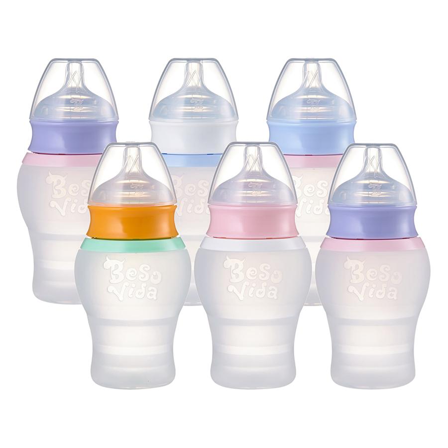 Bình Sữa Mobi Baby 6 cái