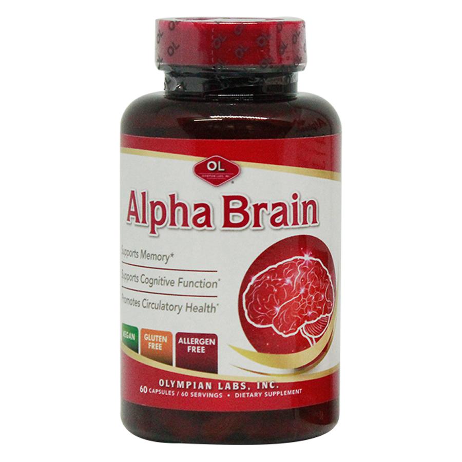 Thực phẩm chức năng: Hỗ trợ tuần hoàn não, cải thiện trí nhớ hiệu quả - Alpha Brain 60 viên - 4601921 , 1124589223700 , 62_9849163 , 420000 , Thuc-pham-chuc-nang-Ho-tro-tuan-hoan-nao-cai-thien-tri-nho-hieu-qua-Alpha-Brain-60-vien-62_9849163 , tiki.vn , Thực phẩm chức năng: Hỗ trợ tuần hoàn não, cải thiện trí nhớ hiệu quả - Alpha Brain 60 viên