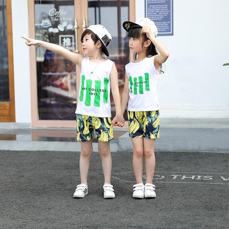 Sét bộ quần áo unisex hot summer thời trang cho bé