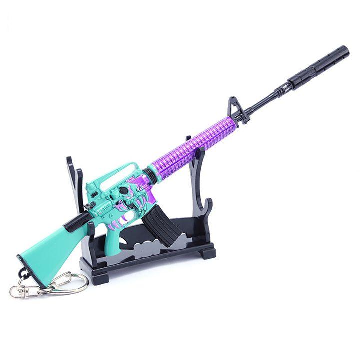 Móc khóa game PUBG - M16A4 Mad Dog + giá đỡ mô hình - 20cm - 1815972 , 6574110834120 , 62_13352543 , 199000 , Moc-khoa-game-PUBG-M16A4-Mad-Dog-gia-do-mo-hinh-20cm-62_13352543 , tiki.vn , Móc khóa game PUBG - M16A4 Mad Dog + giá đỡ mô hình - 20cm