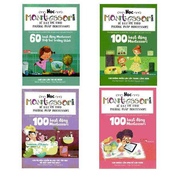 Combo 100 Hoạt Động Montessori (Bộ 3 Cuốn) + 60 Hoạt Động Montessori Giúp Trẻ Trưởng Thành: Chờ Con Lớn Thì Đã Muộn - 1650458 , 9326840953247 , 62_11445039 , 299000 , Combo-100-Hoat-Dong-Montessori-Bo-3-Cuon-60-Hoat-Dong-Montessori-Giup-Tre-Truong-Thanh-Cho-Con-Lon-Thi-Da-Muon-62_11445039 , tiki.vn , Combo 100 Hoạt Động Montessori (Bộ 3 Cuốn) + 60 Hoạt Động Montesso