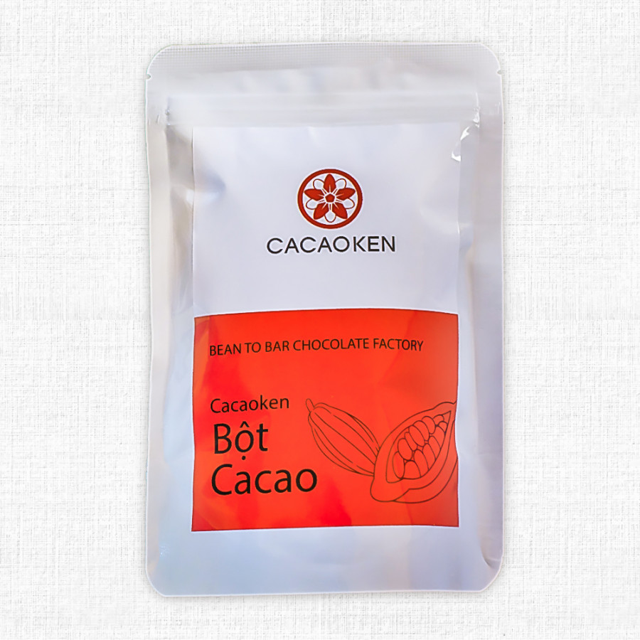 Bột cacao nguyên chất Cacaoken