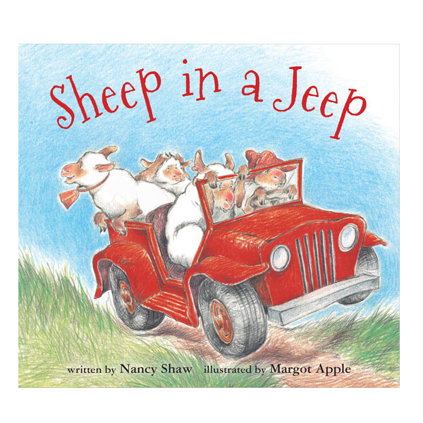 Sheep in a Jeep (board book) - 1318938 , 5602855349188 , 62_5308291 , 1384000 , Sheep-in-a-Jeep-board-book-62_5308291 , tiki.vn , Sheep in a Jeep (board book)