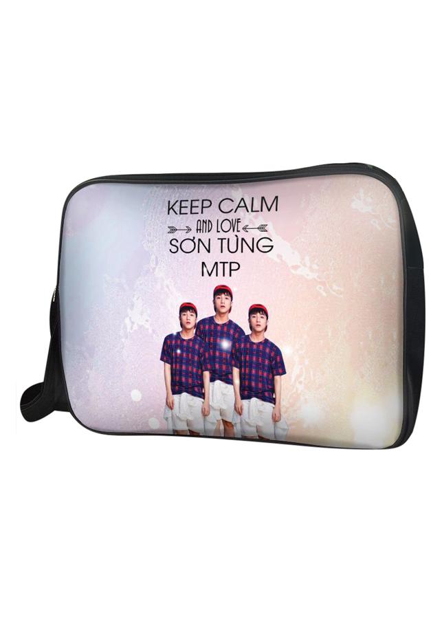 Túi Đeo Chéo Hộp Unisex Keep Calm And Love Sơn Tùng MTP - TCVP234