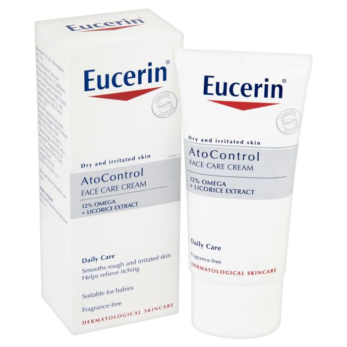 Kem Dưỡng Da Mặt Eucerin AtoControl Face Care Cream (50 ml)