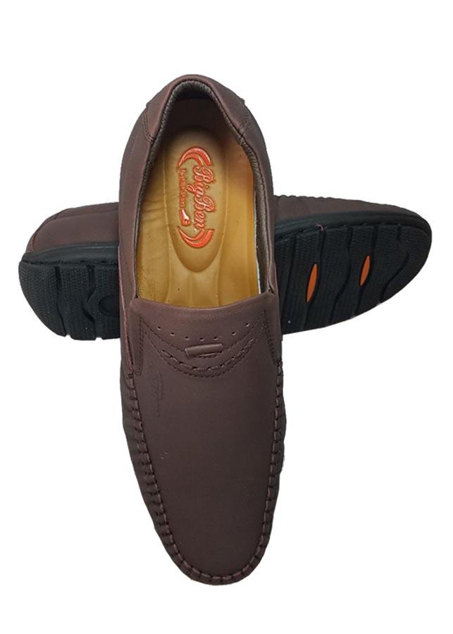 Giày Mọi Nam BIGGBEN Da Bò Thật Cao Cấp GM105