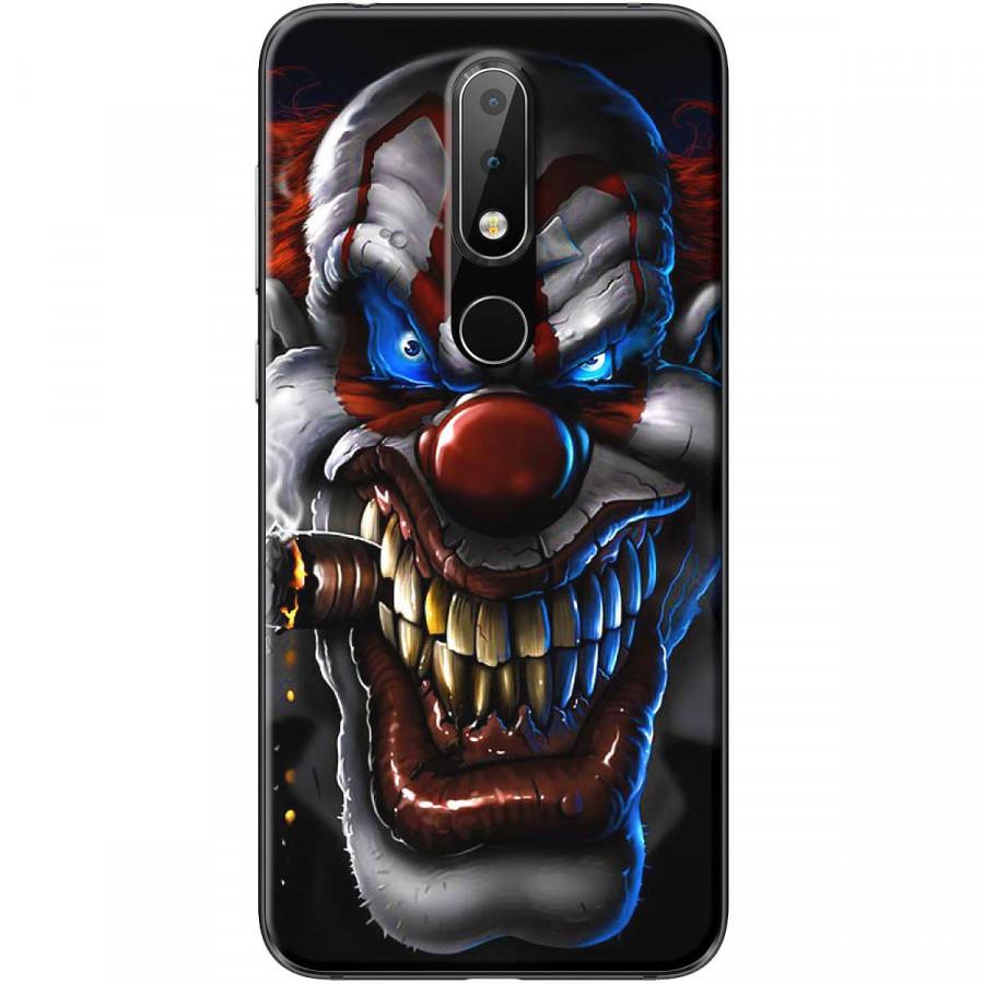 Ốp lưng dành cho điện thoại Nokia 6.1 Plus Mẫu Thằng hề