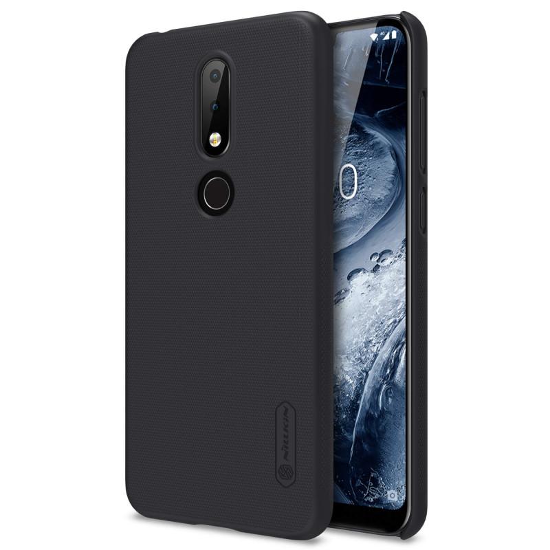 Ốp lưng cứng Nillkin cho Nokia X6 (Nokia 6.1 Plus) Đen - Hãng chính hãng