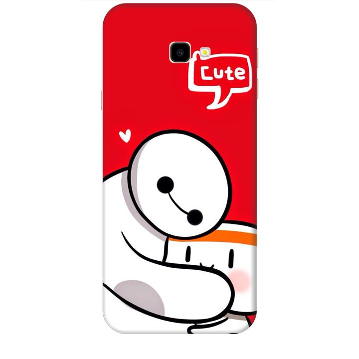 Ốp lưng dành cho điện thoại  SAMSUNG GALAXY J4 PLUS hinh Big Hero Cute