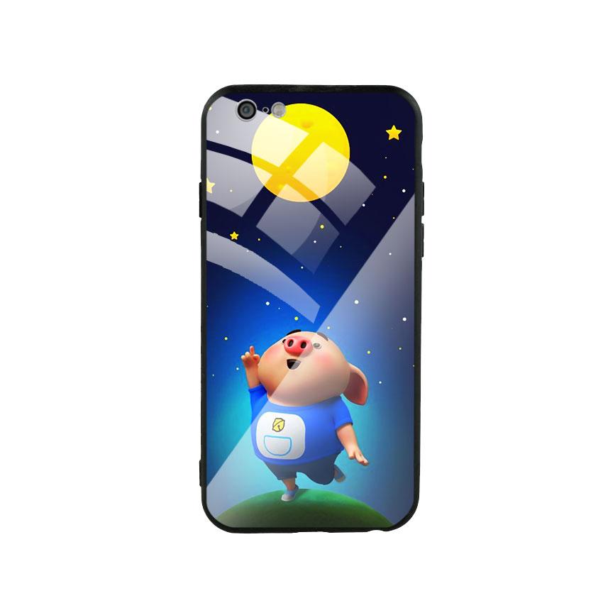 Ốp Lưng Kính Cường Lực cho điện thoại Iphone 6 / 6s - Pig Cute 07 - 1579173 , 6783332698643 , 62_14808593 , 250000 , Op-Lung-Kinh-Cuong-Luc-cho-dien-thoai-Iphone-6--6s-Pig-Cute-07-62_14808593 , tiki.vn , Ốp Lưng Kính Cường Lực cho điện thoại Iphone 6 / 6s - Pig Cute 07