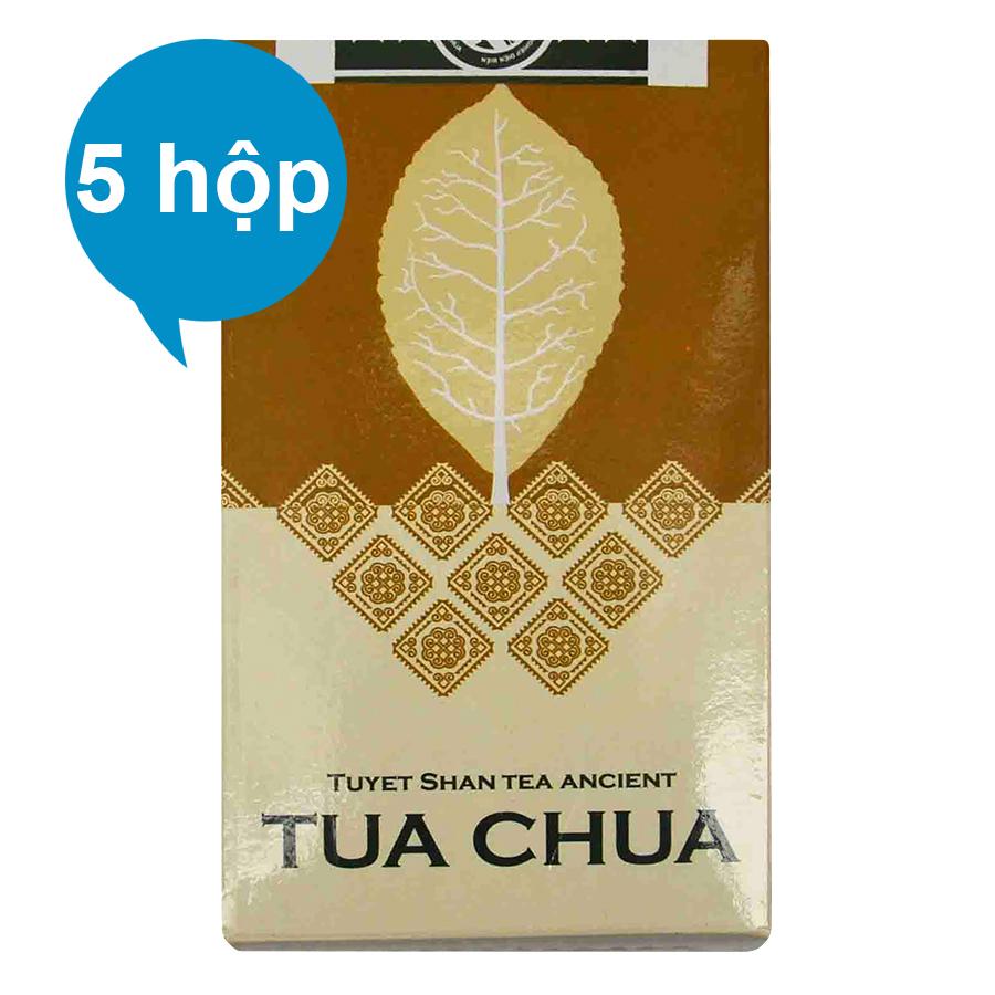 Combo 5 Chè Handmade Tuyết Shan Cổ Thụ Dien Bien Food (100g / Hộp)