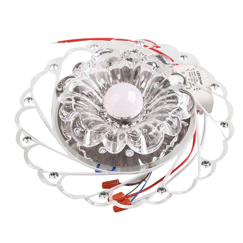 Đèn Chùm LED Thủy Tinh Treo Trần Phòng Ngủ