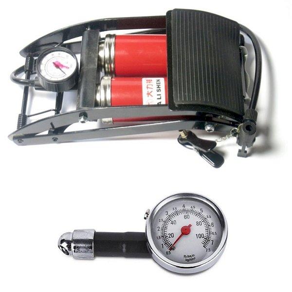 Combo Bơm hơi đạp chân 2 Pitton kèm Đồng hồ điện tử đo áp suất lốp xe chuyên dụng cho ô tô xe máy - 1168924 , 2637113720228 , 62_4819247 , 400000 , Combo-Bom-hoi-dap-chan-2-Pitton-kem-Dong-ho-dien-tu-do-ap-suat-lop-xe-chuyen-dung-cho-o-to-xe-may-62_4819247 , tiki.vn , Combo Bơm hơi đạp chân 2 Pitton kèm Đồng hồ điện tử đo áp suất lốp xe chuyên dụng
