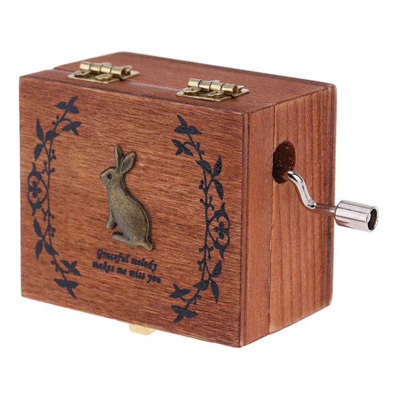 Retro Wooden Musical Box Hand Crank Music Box Exquisite Workmanship 4 Patterns for Option - 2149774 , 8829470314293 , 62_13721837 , 219000 , Retro-Wooden-Musical-Box-Hand-Crank-Music-Box-Exquisite-Workmanship-4-Patterns-for-Option-62_13721837 , tiki.vn , Retro Wooden Musical Box Hand Crank Music Box Exquisite Workmanship 4 Patterns for Opti