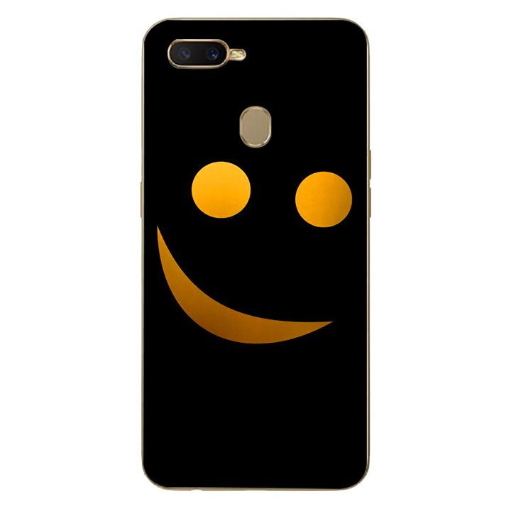 Ốp lưng dẻo cho điện thoại Oppo A7_Smile 03