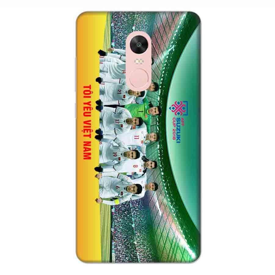Ốp Lưng Dành Cho Xiaomi Note 4X AFF Cup Đội Tuyển Việt Nam - Mẫu 3