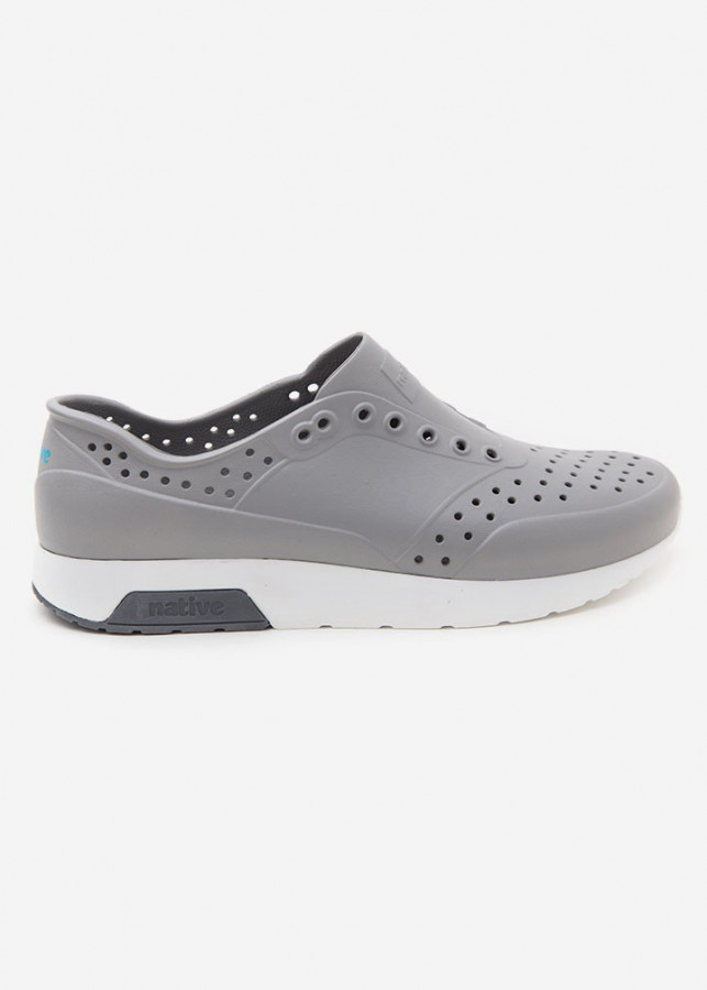 Giày Lười Unisex Native AD LENNOX (111050001529) PIGEON GREY/ SHELL WHITE/ DUBLIN GREY