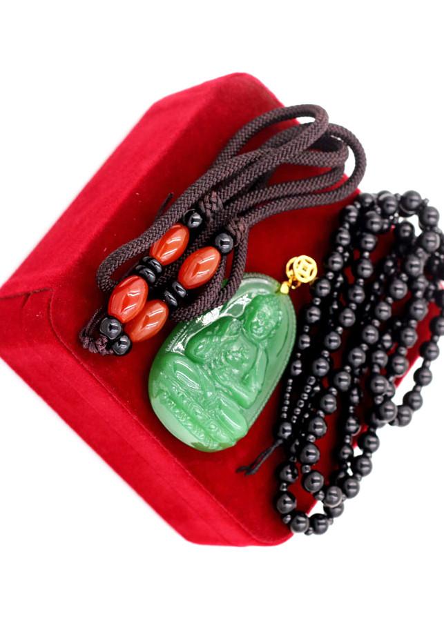 Bộ dây chuyền Phật A Di Đà ngọc tủy xanh kèm hộp nhung - 1219651 , 7290983224484 , 62_5198413 , 580000 , Bo-day-chuyen-Phat-A-Di-Da-ngoc-tuy-xanh-kem-hop-nhung-62_5198413 , tiki.vn , Bộ dây chuyền Phật A Di Đà ngọc tủy xanh kèm hộp nhung
