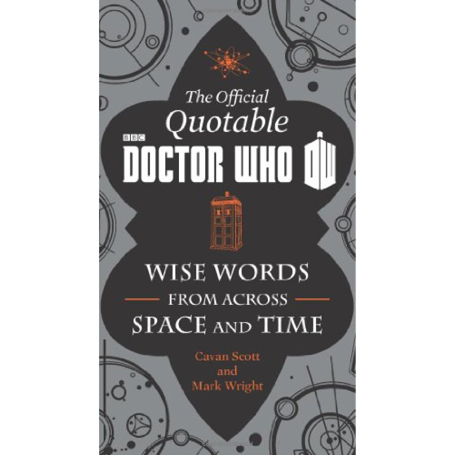 The Quotable Doctor Who: Wise Words from Across Space and Time - 1223576 , 7924434646241 , 62_5228425 , 422000 , The-Quotable-Doctor-Who-Wise-Words-from-Across-Space-and-Time-62_5228425 , tiki.vn , The Quotable Doctor Who: Wise Words from Across Space and Time